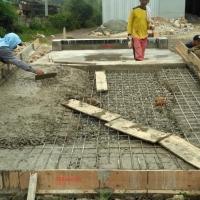 Pembangunan Pondasi Timbangan